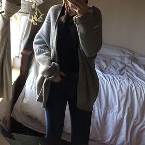 Forever 21 Gray cardigan